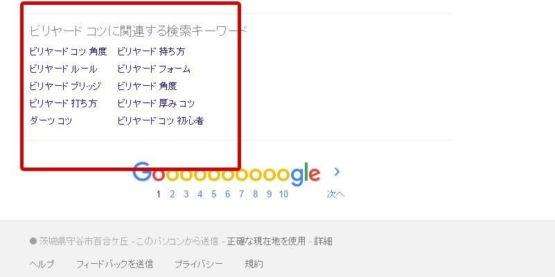 Google検索の図4