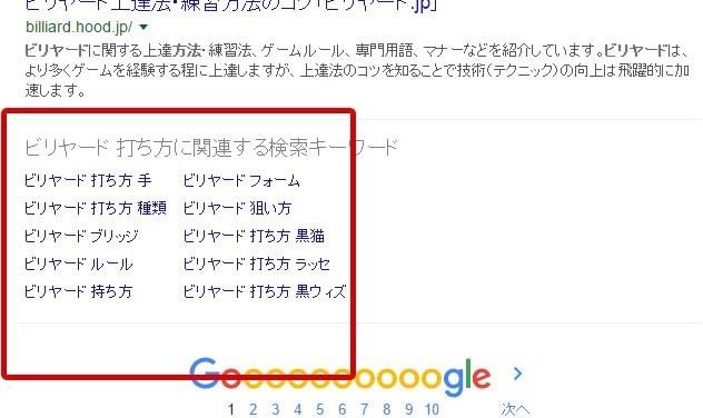 Google検索の図8
